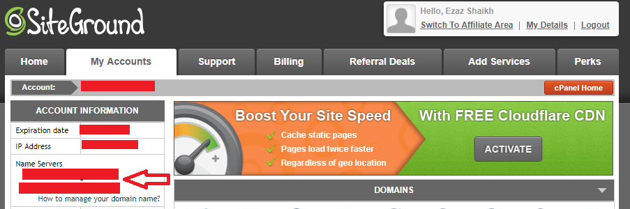 Connect Hosting & Domain 2