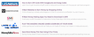 Swagbucks news