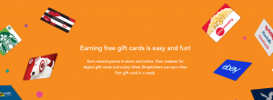 Instore Free Gift Cards Instantly