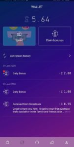 Sweatcoin Review Is Sweatcoin Legit App That Pay You For Walking Twomillionways