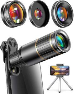 TikTok camera lens