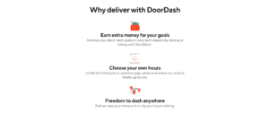 DoorDash app