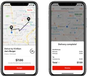 DoorDash driver app