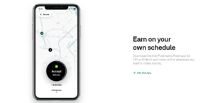 postmates fleet to earn cash