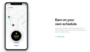 Postmates driver Home page