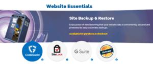 Hostgator website security