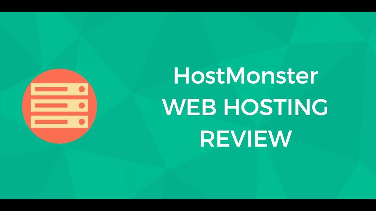 Hostmonster Review