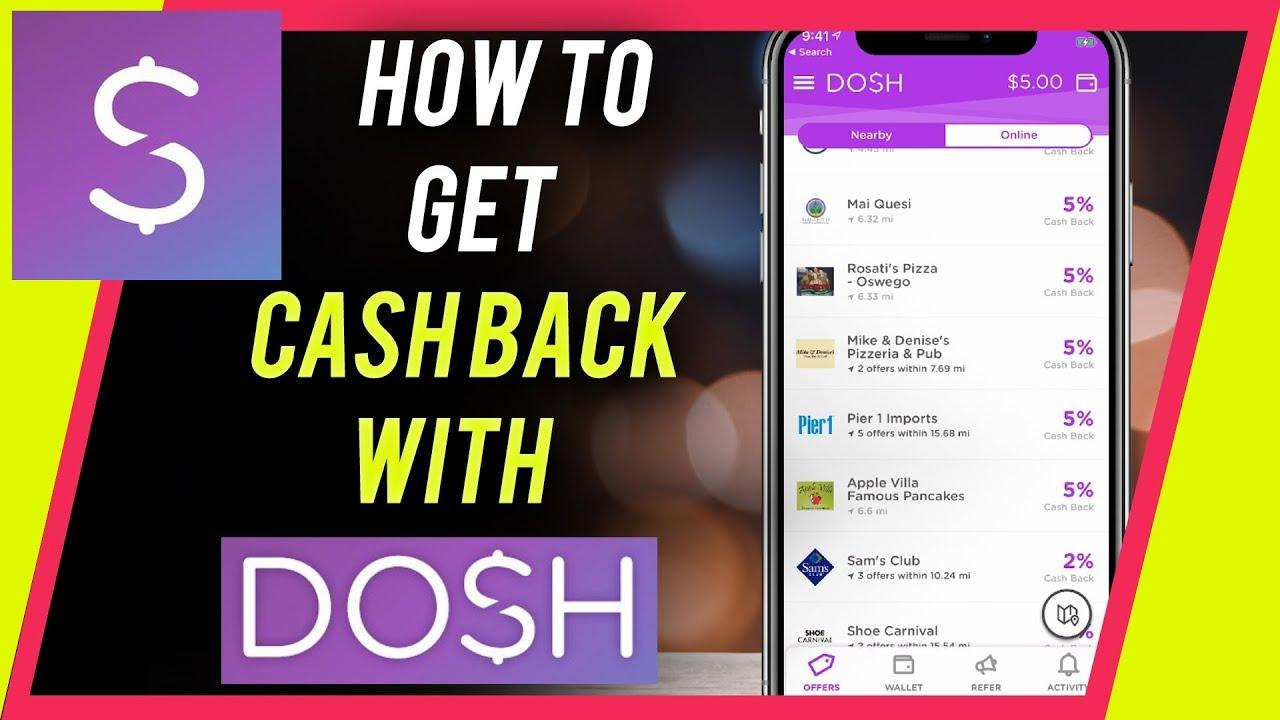 How you will receive money from Dosh