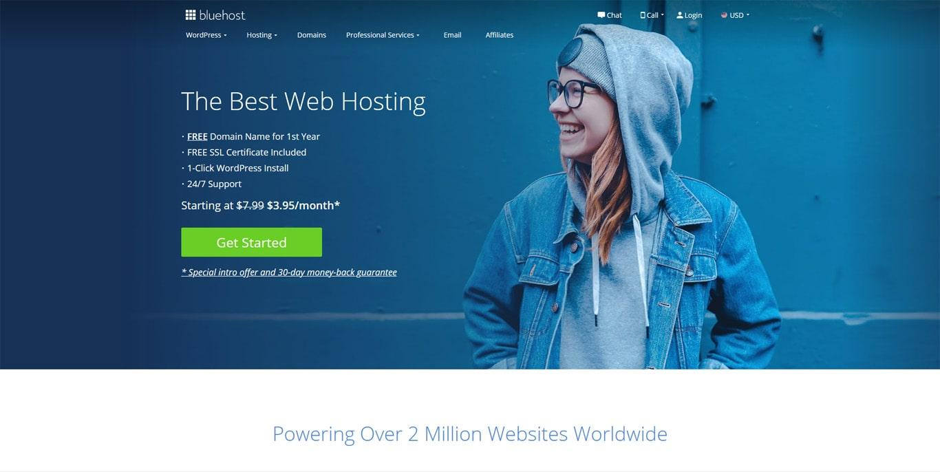 Bluehost for WordPress