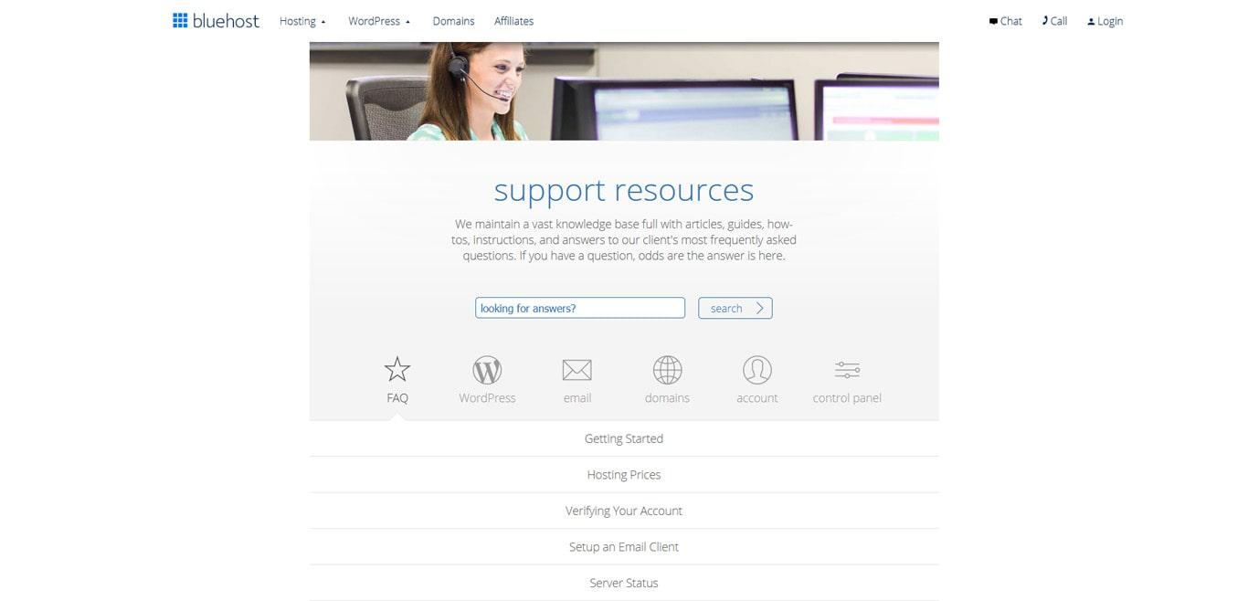 Bluehost for WordPress
