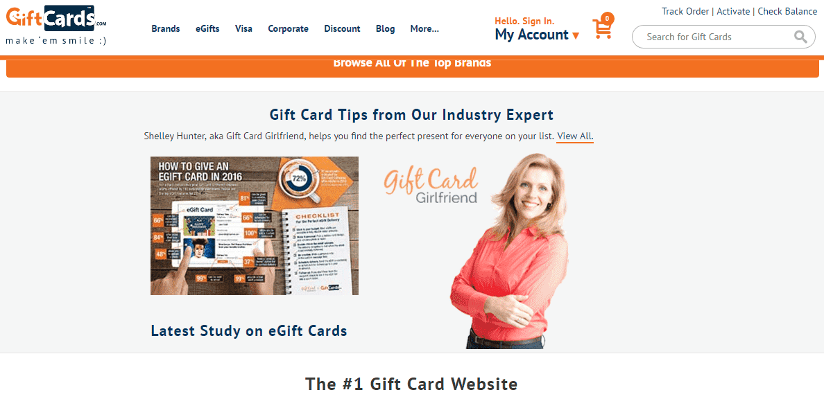 Giftcards.com Review