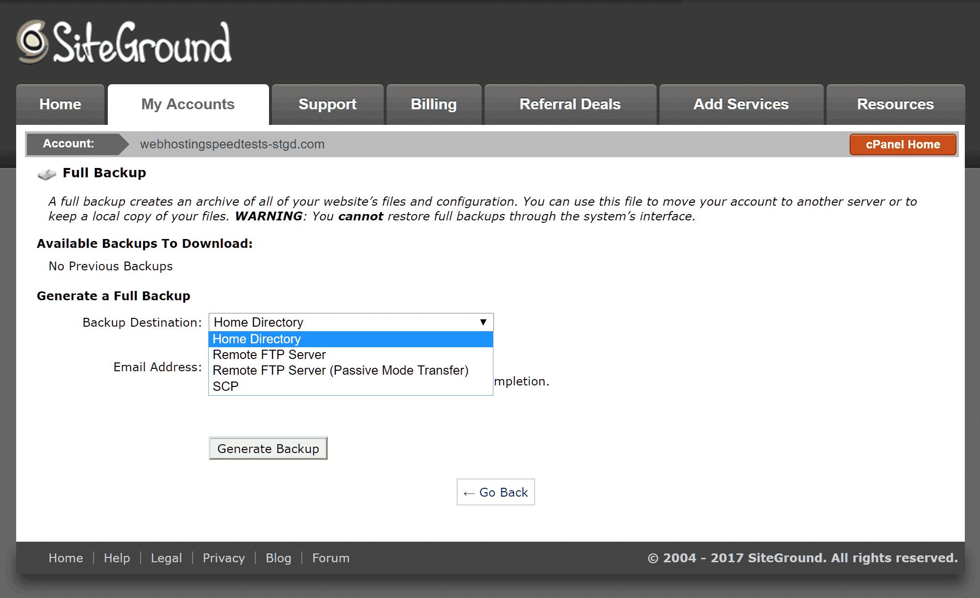 Bluehost vs Siteground vs GoDaddy