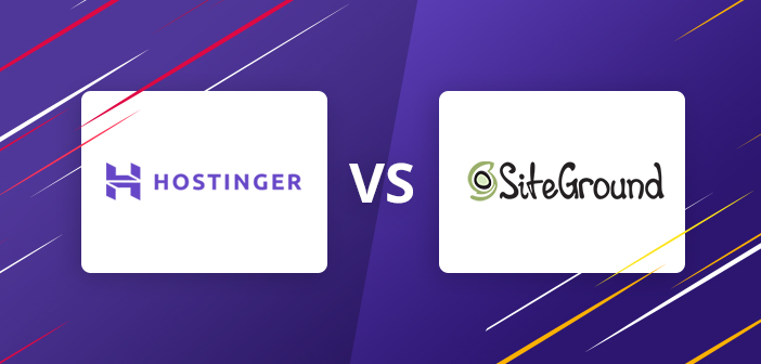 Hostinger vs Siteground