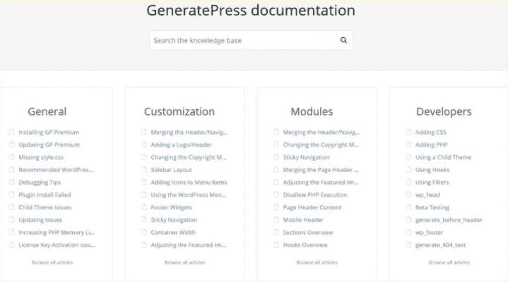 gp documentation